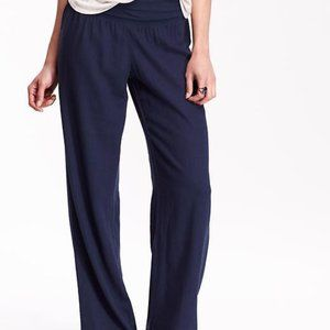 💋3 for $15!  Linen Rayon Blend Pants Old Navy S